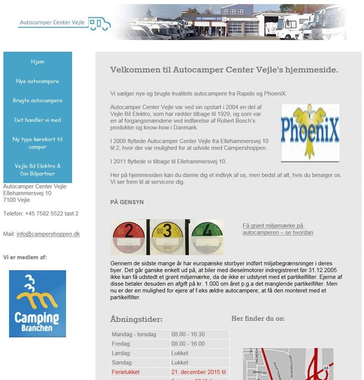 Autocamper Center Vejle