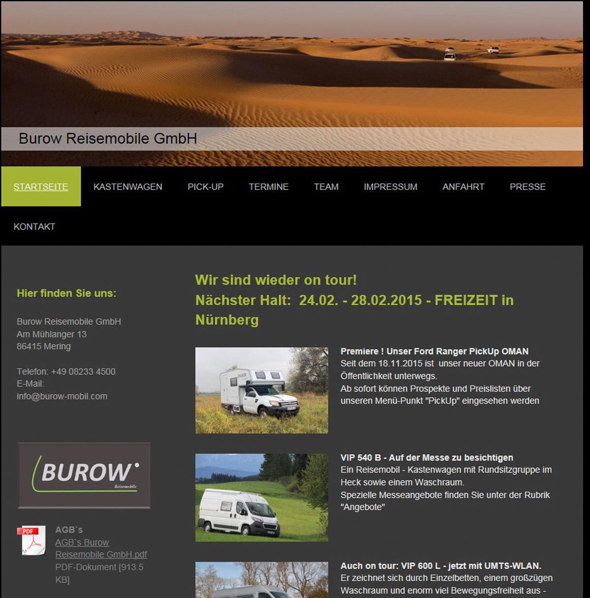 Burow Reisemobile