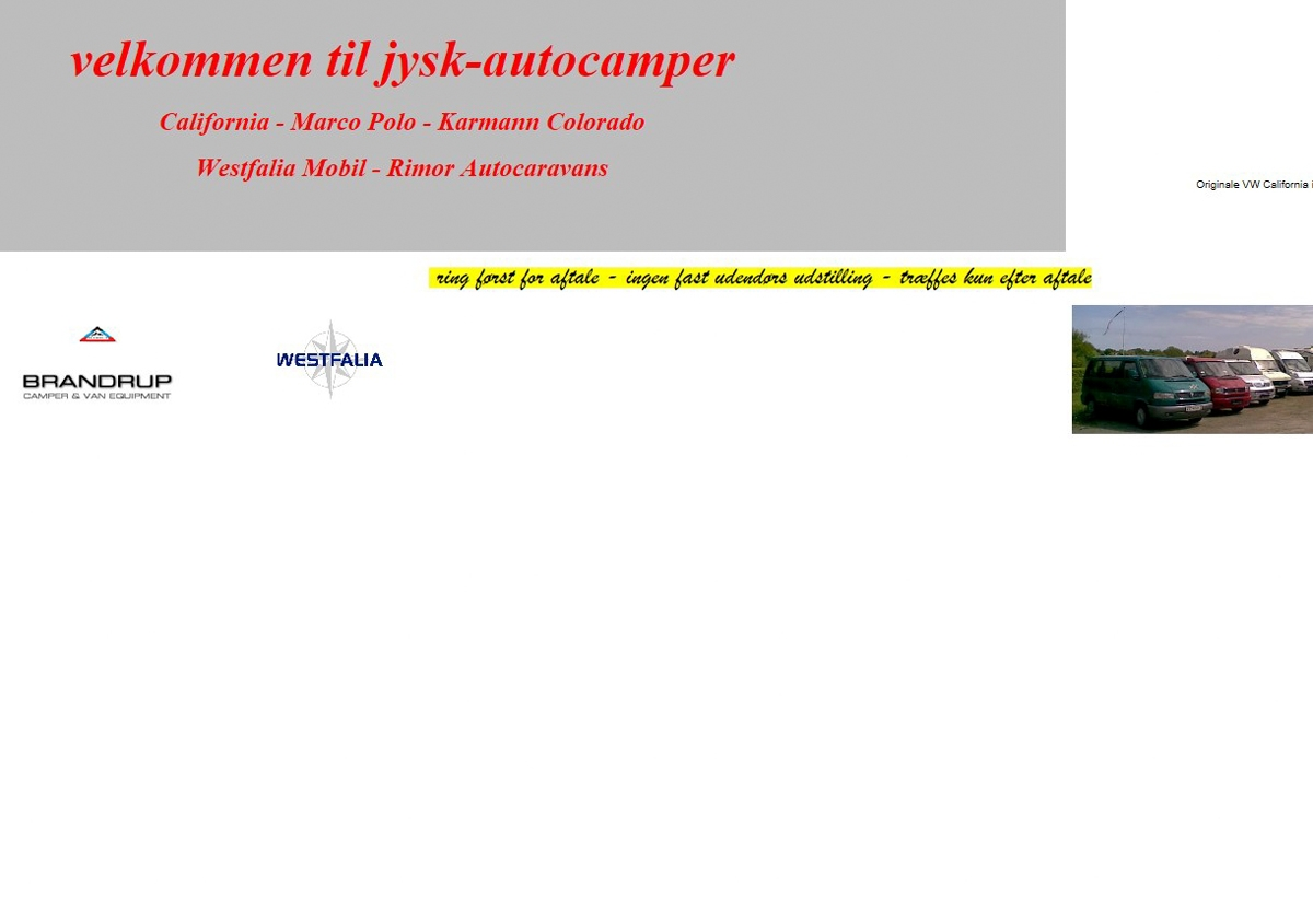 Jysk Autocamper