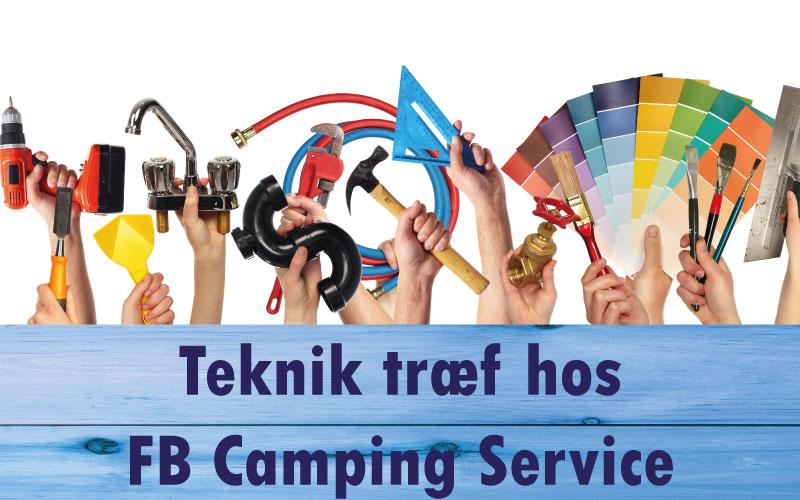 Teknik træf hos FB Camping Service