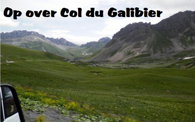 En tur fra Monêtier-les-Bains via Galibier til Les Verneys