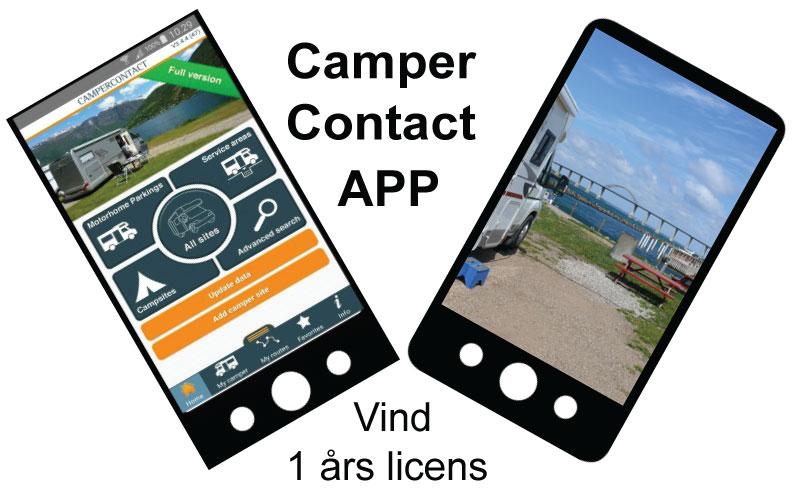Camper Contact APP