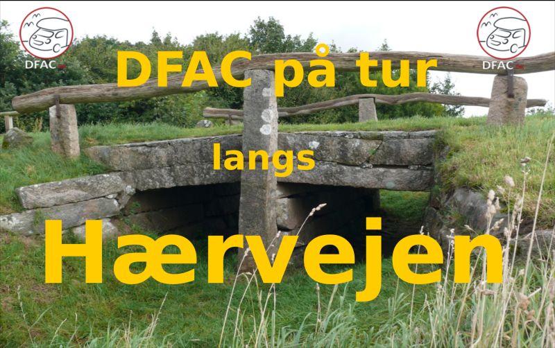 DFAC på tur langs Hærvejen