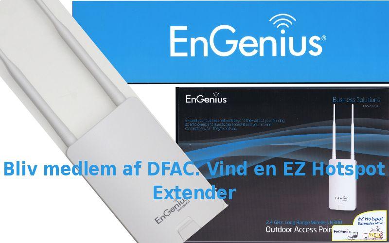 Vind en Engenius EZ Hotspot Extender