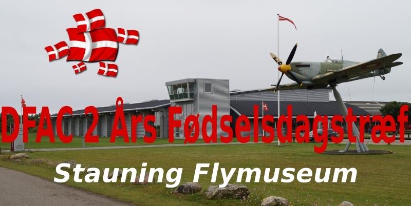 2-års fødselsdagstræf på Stauning Fly Museum