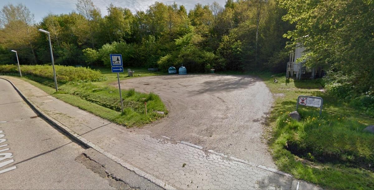 Autocamperplads på vej ved Nørresø i Viborg