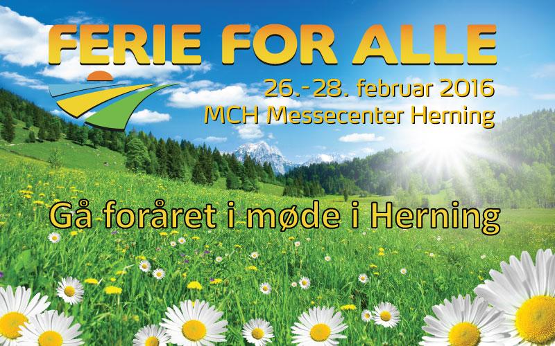 Ferie for alle 26. – 28. februar i Herning