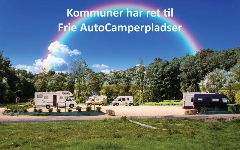 Kommunernes ret til Frie AutoCamper pladser