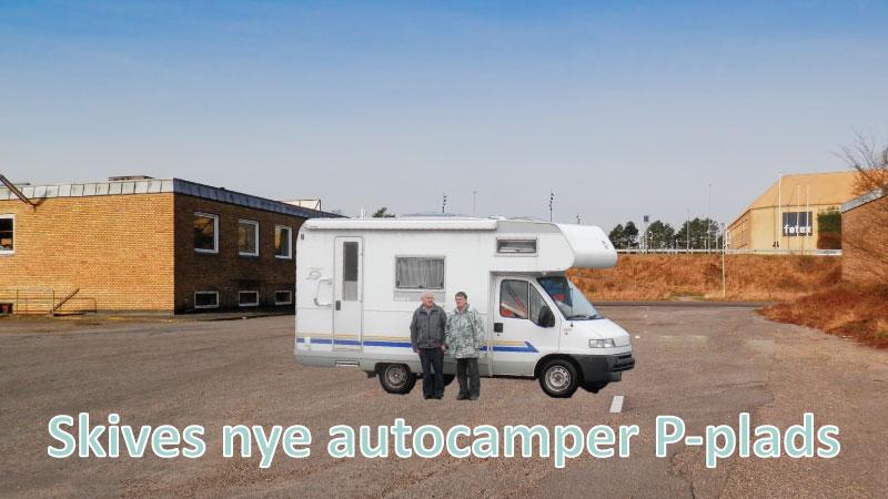 Skives nye autocamper P-plads