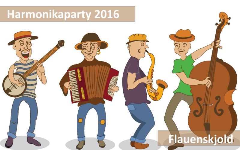 Flauenskjold Harmonikaparty