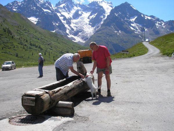 Vandforsyningen på Col du Lautaret