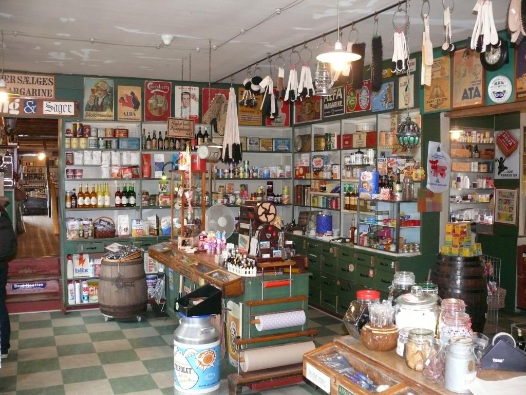 Et kig i butikken