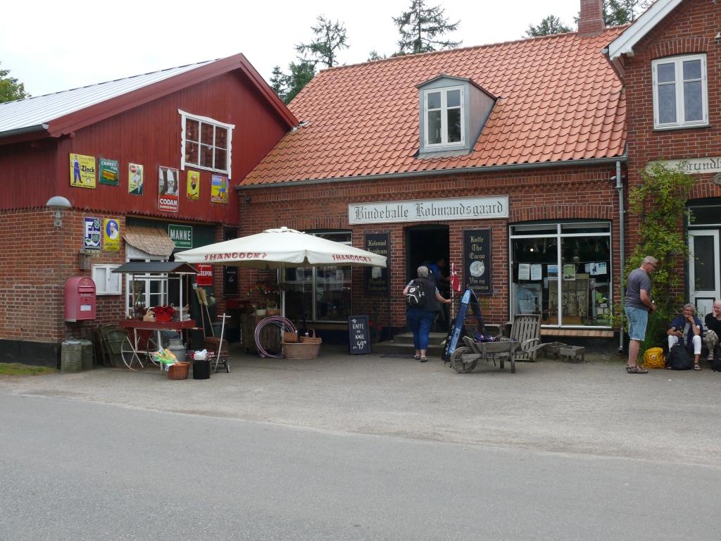 Indgang til butikken