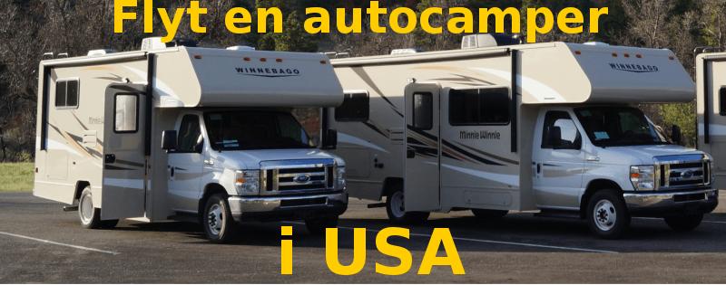 Flyt en autocamper i USA