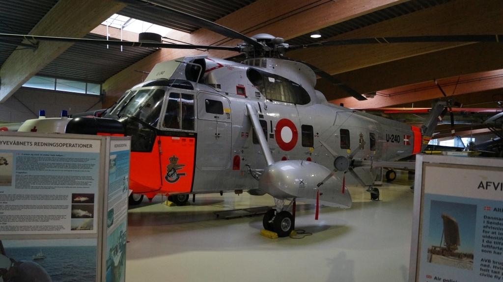 Sikorsky S-61 helikopter, der har reddet utallige menneskeliv