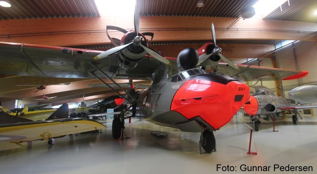 Consolidated PBY-6A Catalina, en vandflyver brugt især i Grønland.