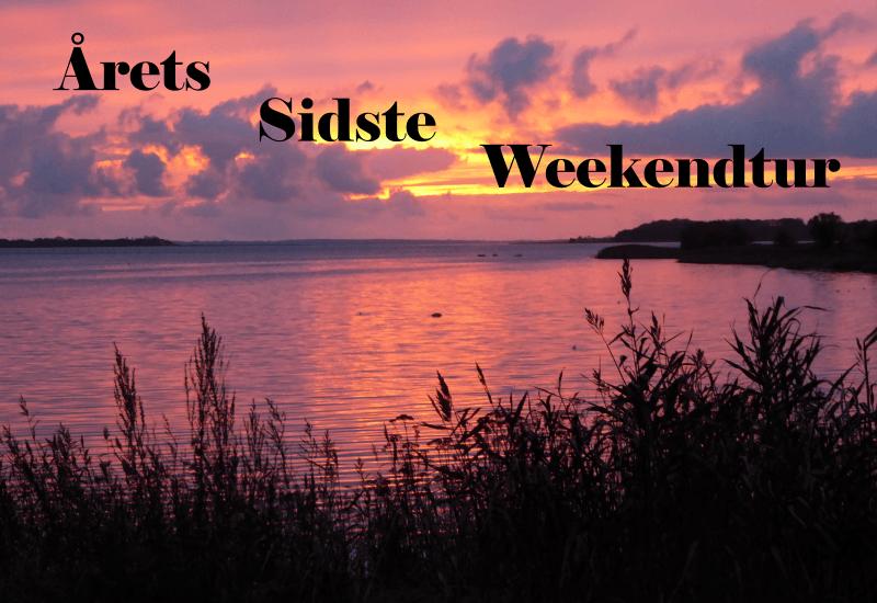 Årets sidste Weekendtur