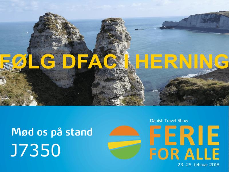 Følg DFAC på Ferie for Alle i Herning