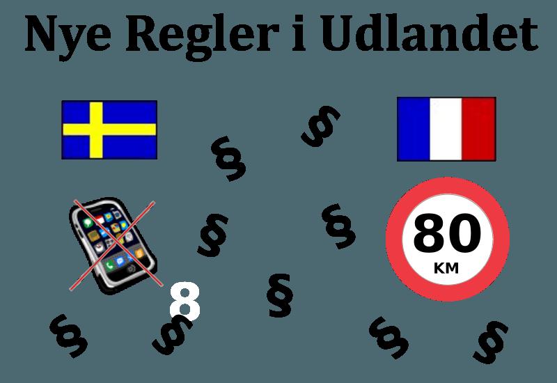 Nye regler i udlandet