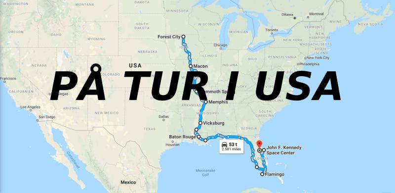 På tur i USA
