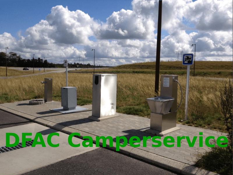 DFAC Camperservice – find en tømmeplads