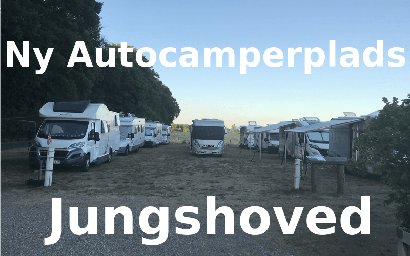 Ny Autocamperplads i Jungshoved