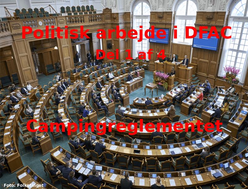 Politisk arbejde i DFAC – del 1 af 4