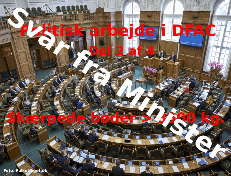 Politisk arbejde i DFAC – del 2 af 4 – revideret