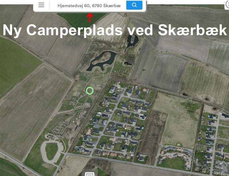 Ny Autocamperplads v/Skærbæk