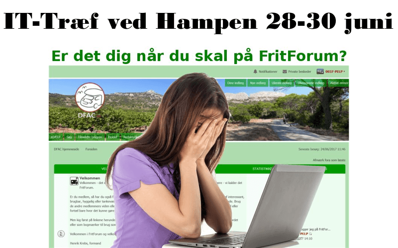 IT-Træf ved Hampen 28 – 30 juni