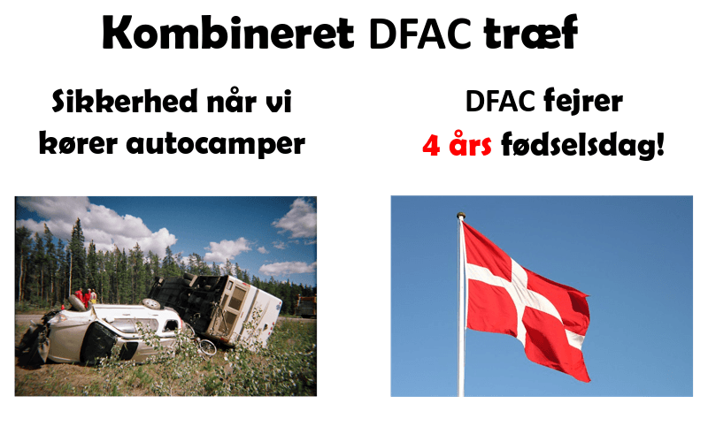 Kombineret DFAC træf