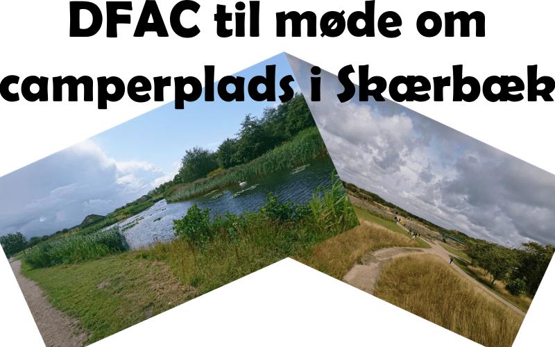 Møde om ny camperplads i Skærbæk
